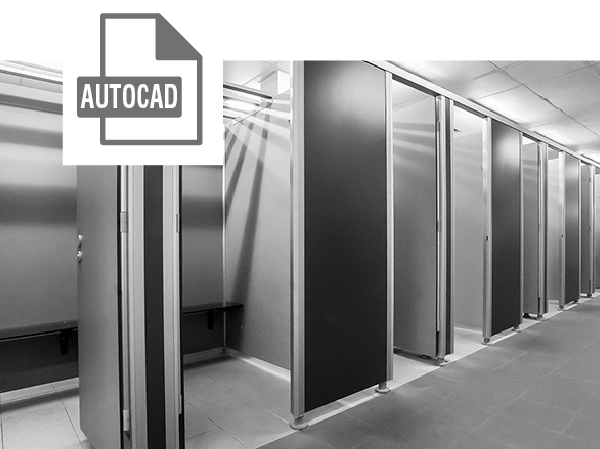 Conform Cubicles AutoCad File