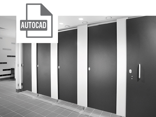 Connect Cubicles AutoCad File