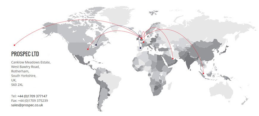 Prospec International Global Locations