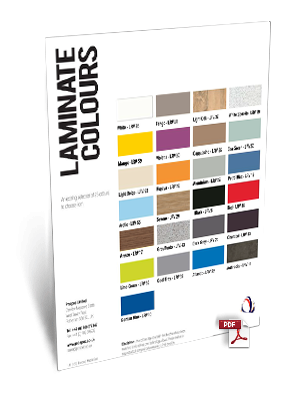 Laminate Colour Chart