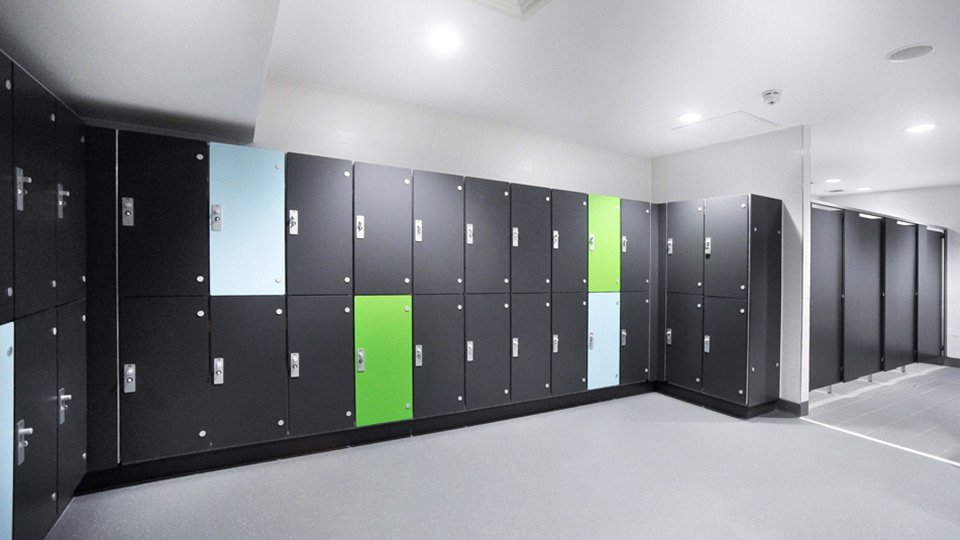 Marathon Laminate Lockers Dry Compact Grade Laminate Lockers