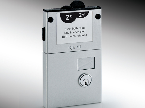 Prospec Removable Cylinder Dual Coin Collect Lock