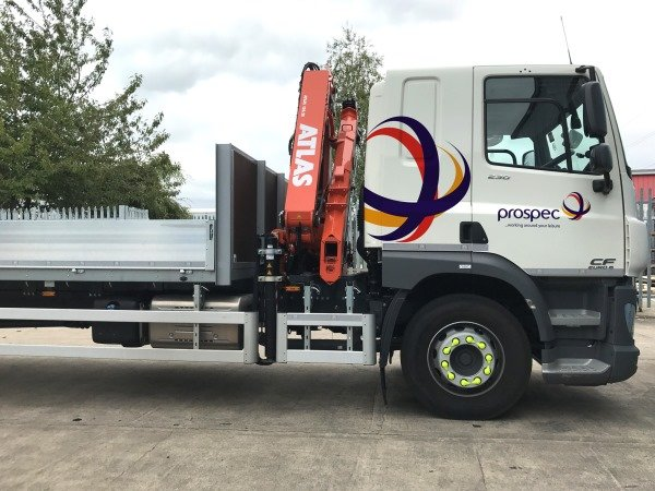 PROSPEC'S NEW TRUCK - FAST AND SAFE DELIVERIES AND OFFLOADING
