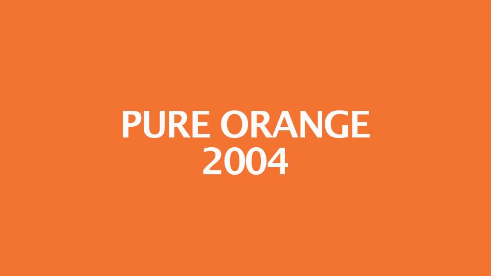 Orange Color Chart Ibovnathandedecker