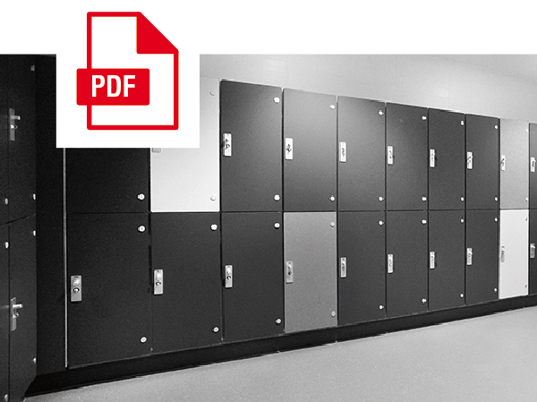 Glass Lockers Dry Specification Card